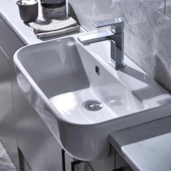 Roper Rhodes Cover Slim Depth Semi Countertop Basin