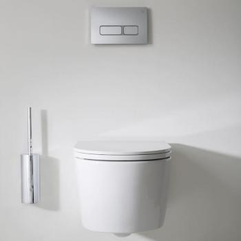 Crosswater Pier Rimless Wall Hung WC & Soft Close Seat