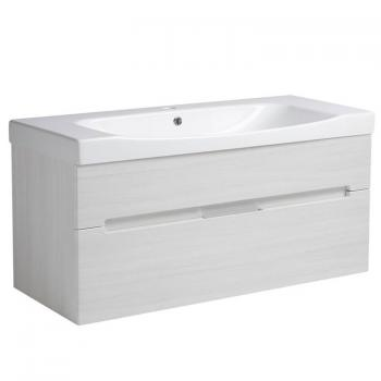 Roper Rhodes Diverge Alpine Elm 1000mm Wall Mounted Unit & Basin