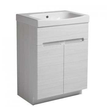 Roper Rhodes Diverge Alpine Elm 600mm Freestanding Unit & Basin