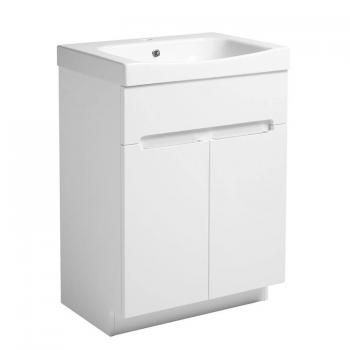 Roper Rhodes Diverge Gloss White 600mm Freestanding Unit & Basin