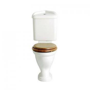 Heritage Dorchester Close Coupled Comfort Height Corner WC & Cistern