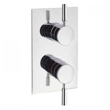 Elegante Thermostatic Shower Valve With Two Outlets