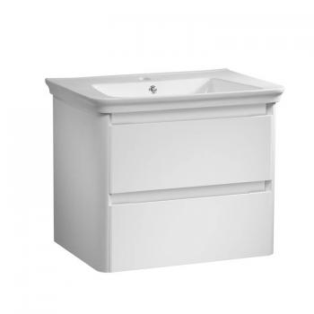 Tavistock Equate White Gloss 700mm Wall Mounted Unit & Basin