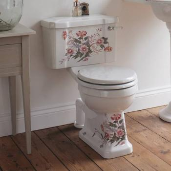 Burlington English Garden Close Coupled WC with Cistern