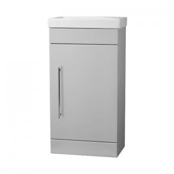 Roper Rhodes Esta Gloss Light Grey 460mm Freestanding Unit & Basin