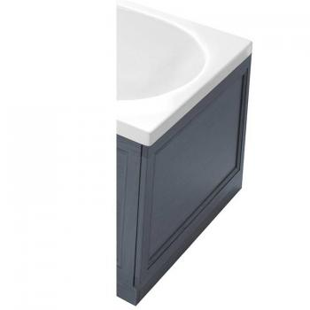 Heritage Graphite Wooden End Bath Panel