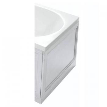Heritage Dove Grey Wooden End Bath Panel
