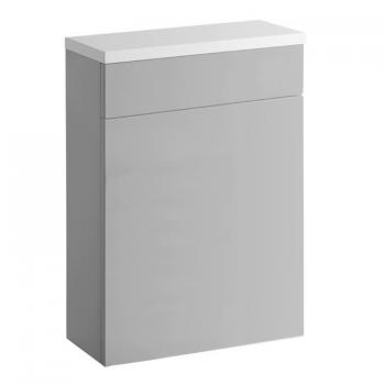 Roper Rhodes Gloss Light Grey 600mm Back To Wall WC Unit & Worktop