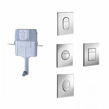 Grohe 1.2m WC Concealed Cistern and Flush Plate