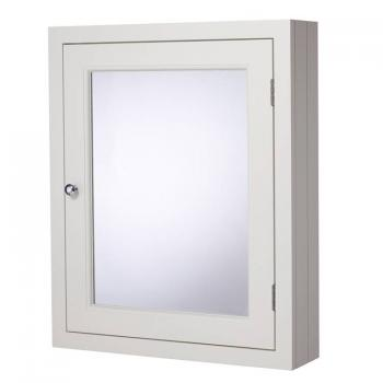 Roper Rhodes Hampton 565mm Chalk White Mirror Cabinet