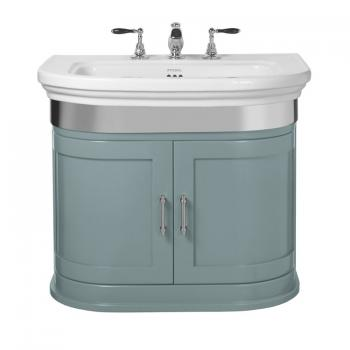 Imperial Carlyon Thurlestone Henley Blue Vanity Unit & Basin