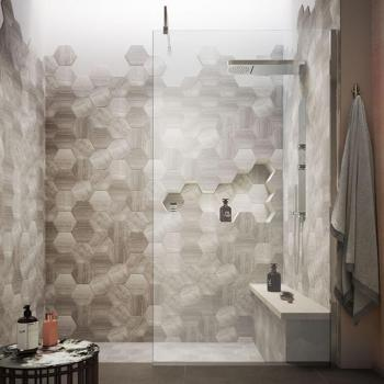 Hudson Reed 1400mm Wetroom Screen With Support Bar