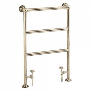 Heritage Portland Vintage Gold Heated Towel Rail