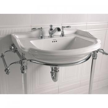 Imperial Drift Hardwick Basin Stand with Glass Legs