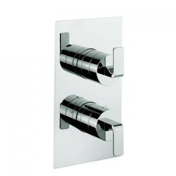 Crosswater Kelly Hoppen Zero 1 Thermostatic Shower Valve With 2 Way Diverter