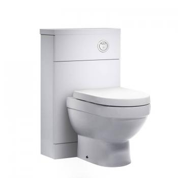 Tavistock Kobe 500mm Gloss White Back To Wall WC Unit
