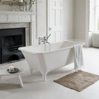 Clearwater Lonio Natural Stone Freestanding Bath