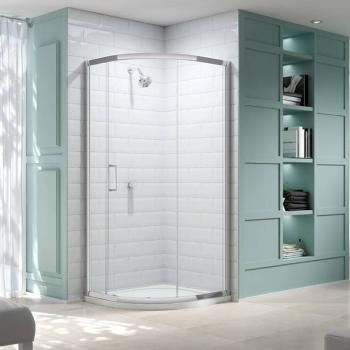 Merlyn 8 Series 900mm 1 Door Quadrant Shower Enclosure