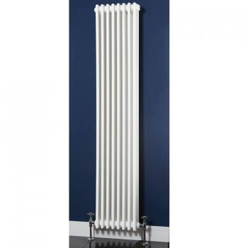 Phoenix Nicole Tall White Column Radiator