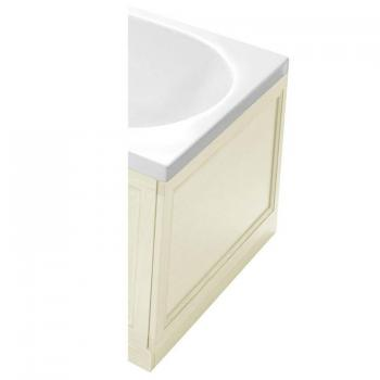 Heritage Oyster Wooden End Bath Panel