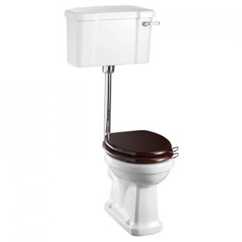 Burlington Low Level Toilet With Ceramic Cistern Lever
