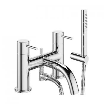 Crosswater MPRO Chrome Bath Shower Mixer With Kit