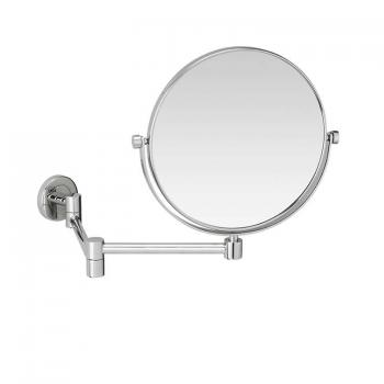 Crosswater Mike Pro Round Wall Mounted Cosmetic Mirror
