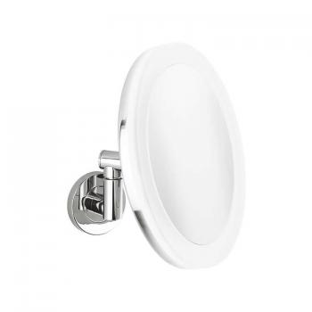 Crosswater Mike Pro Round Cosmetic Led Mirror