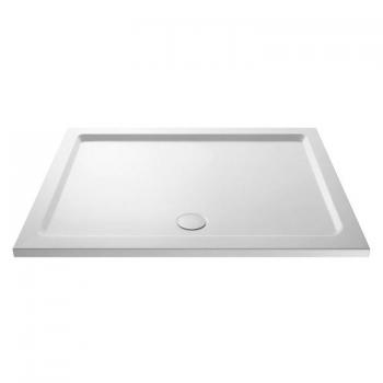 Hudson Reed Pearlstone 1400 x 800mm Rectangle Shower Tray & Waste