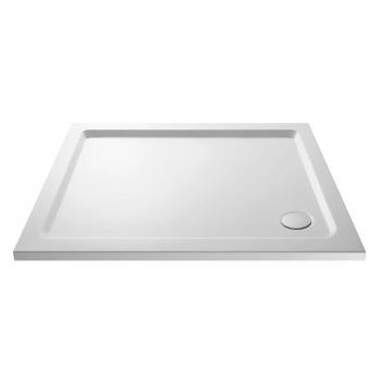 Hudson Reed Pearlstone 1000 x 700mm Rectangle Shower Tray & Waste