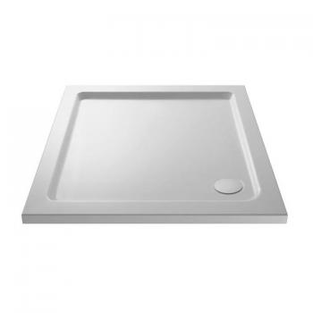 Hudson Reed Pearlstone 760 x 760mm Square Shower Tray & Waste