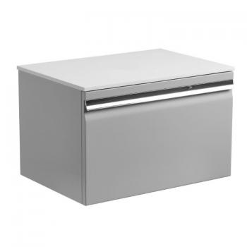 Roper Rhodes Pursuit Gloss Light Grey 600mm Vanity Unit & Worktop