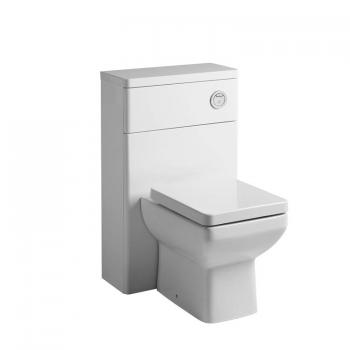 Tavistock Q60 500mm Back To Wall Gloss White WC Unit
