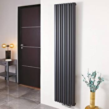 Phoenix Tower Anthracite Designer Radiator