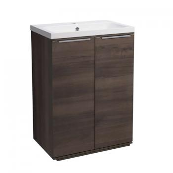 Roper Rhodes Scheme 600mm Smoked Walnut Freestanding Unit & Basin
