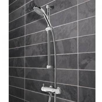 Tavistock Kinetic Thermostatic Bar Shower Valve With Handset