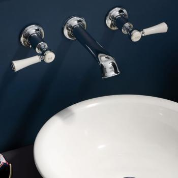 Victoria + Albert Staffordshire 10 Wall Mounted Basin Mixer