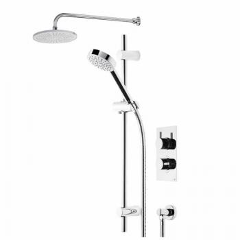 Roper Rhodes Event Round Dual Function Shower System With Fixed Head