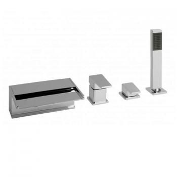 Vado Synergie 4 Hole Bath Shower Mixer With Kit