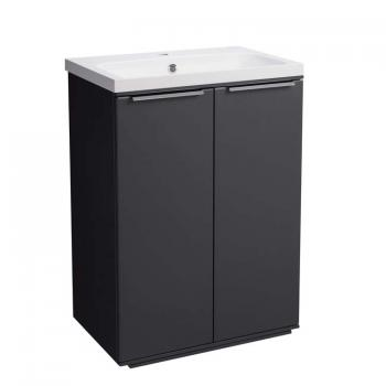 Roper Rhodes Scheme 600mm Matt Carbon Freestanding Vanity Unit & Basin
