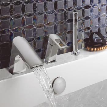 Crosswater Slip Bath Shower Mixer With Kit