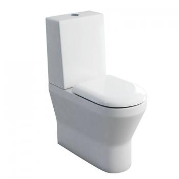Britton Tall Close Coupled Back To Wall WC, 1 Piece Cistern & Seat