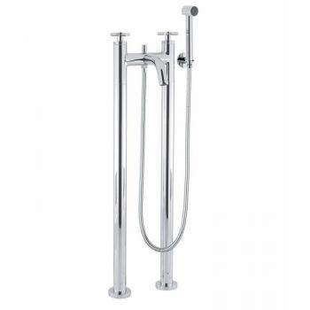 Crosswater Totti Floorstanding Bath Shower Mixer With Kit