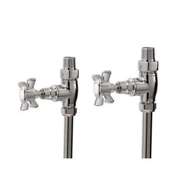 Phoenix Traditional Straight Radiator Valves