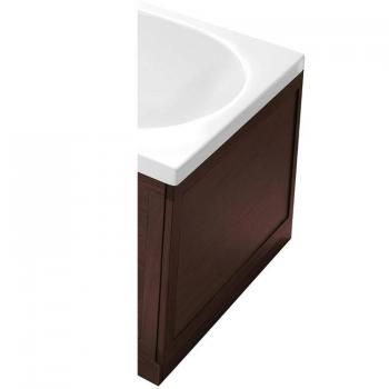 Heritage Walnut Wooden End Bath Panel