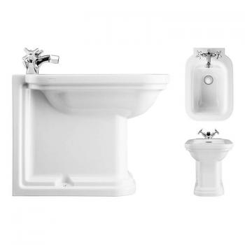Bauhaus Waldorf 55 Back To Wall Bidet