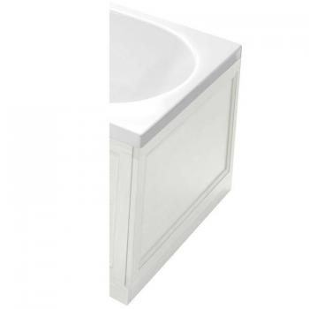 Heritage White Ash Wooden End Bath Panel