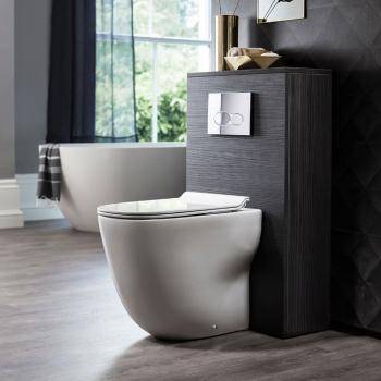 Bauhaus Wild Rimless Back To Wall WC & Soft Close Seat