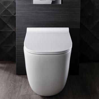 Bauhaus Wild Back To Wall WC & Soft Close Seat